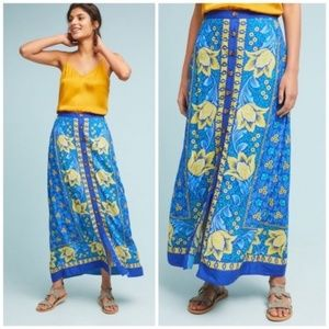 Anthropologie Maeve Cornelia Maxi Long Skirt 6